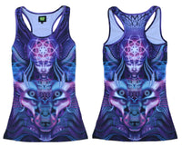 Sublime Tank Girl : Violet Foxy Lady - Women Tops - Space Tribe
