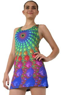 Sublime Tank Girl : Spectral Fractal - Women Tops - Space Tribe