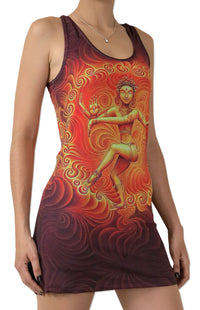 Sublime Tank Girl : Nataraja Dance - Women Tops - Space Tribe