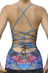 Sublime Kali Top : Holographic Altar - Women Tops - Space Tribe