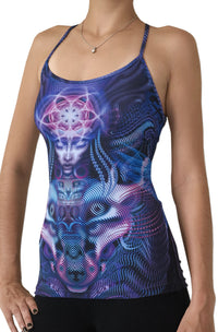 Sublime Kali Top : Violet Foxy Lady - Women Tops - Space Tribe