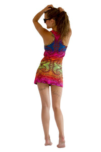 Tank Gurl : Rainbow Fractal - Women Tops - Space Tribe