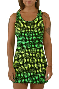 Tank Gurl : Lime Wobberelli - Women Tops - Space Tribe