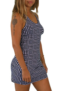 Tank Gurl : Black & White Wobberelli - Women Tops - Space Tribe