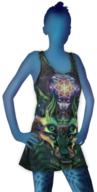 Tank Gurl : Foxy Lady - Women Tops - Space Tribe