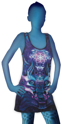 Tank Gurl : Violet Foxy Lady - Women Tops - Space Tribe