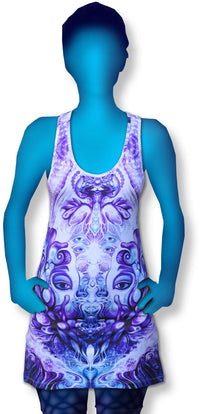 Tank Gurl : Purple Plasm - Women Tops - Space Tribe