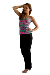 Kali Top : Acid Dragonfly - Women Tops - Space Tribe
