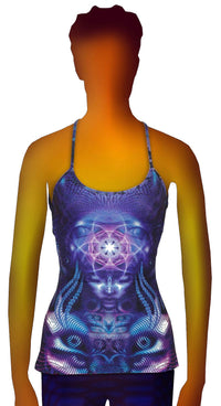 Kali Top : Violet Foxy Lady - Women Tops - Space Tribe