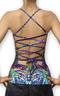 Kali Top : Alphabetamine - Women Tops - Space Tribe