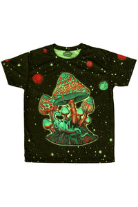 UV Sublime S/S T : Cosmic Shrooms UV - Men T-Shirts - Space Tribe