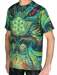 UV Sublime S/S T : Primordial Presence - Men T-Shirts - Space Tribe
