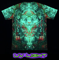 UV Sublime S/S T : Ancestral Ornament - Men T-Shirts - Space Tribe