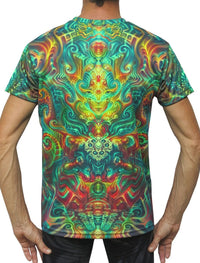 UV Sublime S/S T : Holographic Altar - Men T-Shirts - Space Tribe