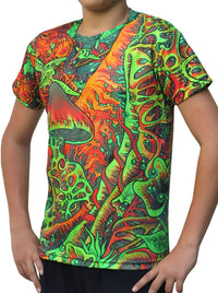 UV Sublime S/S T : Psy Shroom - Men T-Shirts - Space Tribe
