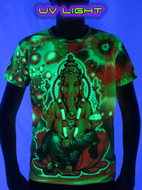 UV Sublime S/S T : Psy Ganesha - Men T-Shirts - Space Tribe