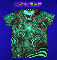 UV Sublime S/S T : Rainbow Valley Fractal - Men T-Shirts - Space Tribe