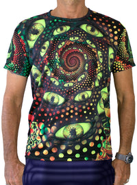 UV Sublime S/S T : LSD Party (No Text) - Men T-Shirts - Space Tribe