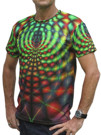 UV Sublime S/S T : Rainbow Web - Men T-Shirts - Space Tribe
