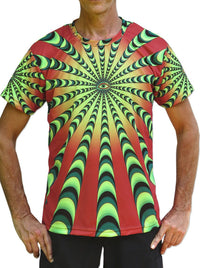 UV Sublime S/S T : Warp Factor 50 red - Men T-Shirts - Space Tribe