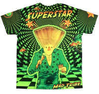 UV Sublime S/S T : Superstar! - Men T-Shirts - Space Tribe