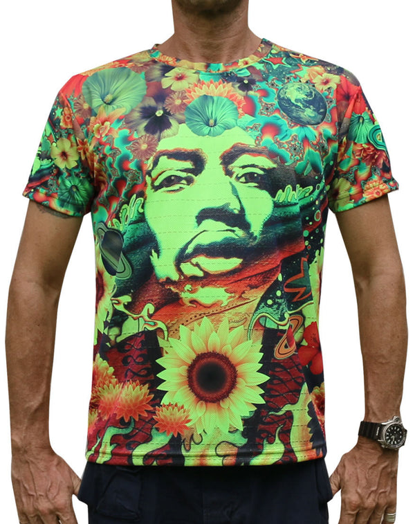 UV Sublime S/S T : Flower Power - Men T-Shirts - Space Tribe