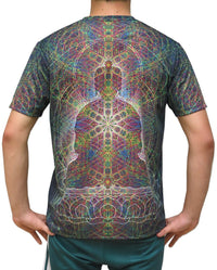 Sublime S/S T : Rainbow Buddha - Men T-Shirts - Space Tribe