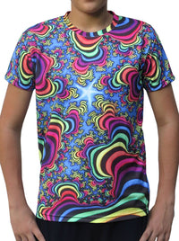 Sublime S/S T : Rainbow Valley Fractal - Men T-Shirts - Space Tribe