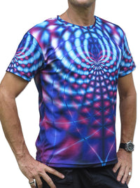 Sublime S/S T : Violet Web - Men T-Shirts - Space Tribe