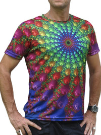Sublime S/S T : Spectral Fractal - Men T-Shirts - Space Tribe