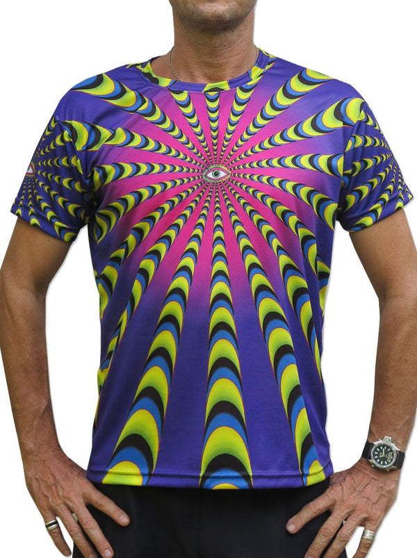 Sublime S/S T : Warp Factor 50 purple - Men T-Shirts - Space Tribe