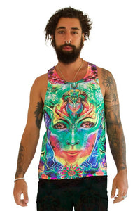 Singlet : Holographic Memory - Men Singlets - Space Tribe