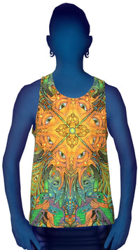 Singlet : PolyMorph - Men Singlets - Space Tribe