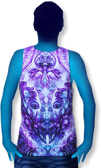 Singlet : Purple Plasm - Men Singlets - Space Tribe
