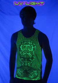 UV Sublime Singlet : Micro Macro - Men Singlets - Space Tribe