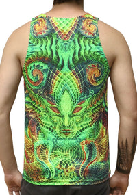 UV Sublime Singlet : Eye for an I - Men Singlets - Space Tribe