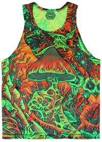UV Sublime Singlet : Psy Shroom - Men Singlets - Space Tribe
