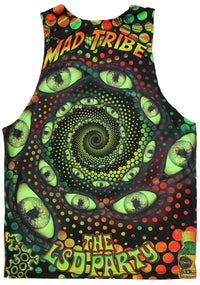 UV Sublime Singlet : LSD Party - Men Singlets - Space Tribe