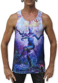 Sublime Singlet : Serpentine Apotheosis - Men Singlets - Space Tribe