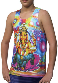 Sublime Singlet : Psy Ganesh - Men Singlets - Space Tribe