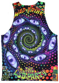 Sublime Singlet : LSD Party - Men Singlets - Space Tribe