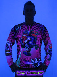 Sublime L/S T : Rocket Power - Men Long Sleeve T's - Space Tribe