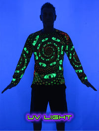 UV Sublime L/S T : LSD Party - Men Long Sleeve T's - Space Tribe