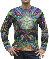 Sublime L/S T : Primordial Presence - Men Long Sleeve T's - Space Tribe