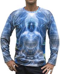 Sublime L/S T : Ocean Buddha - Men Long Sleeve T's - Space Tribe