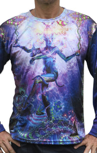 Sublime L/S T : Serpentine Apotheosis - Men Long Sleeve T's - Space Tribe