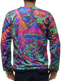 Sublime L/S T : Psy Shroom - Men Long Sleeve T's - Space Tribe