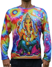 Sublime L/S T : Psy Ganesha - Men Long Sleeve T's - Space Tribe