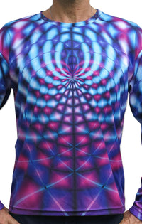 Sublime L/S T : Violet Web - Men Long Sleeve T's - Space Tribe