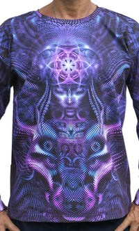 Classic L/S T : Violet Foxy Lady - Men Long Sleeve T's - Space Tribe